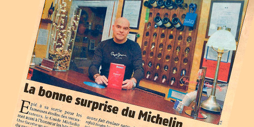 La bonne surprise du Michelin